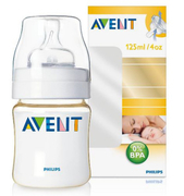 PES Bottle 125ml 0-6M