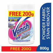 Power O2 Crystal White Fabric Stain Remover 800g+200g (#)