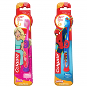 Kids Toothbrush Barbie/Spiderman Ultra Soft 2-5Yrs