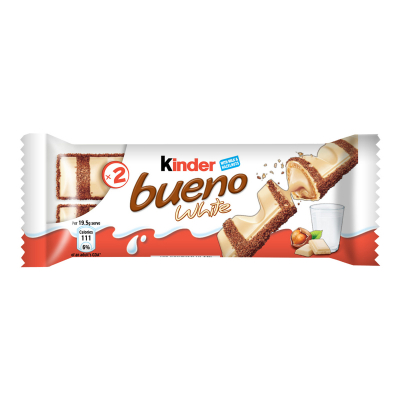 Bueno Chocolates White T2 39g