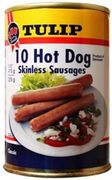 10 Hot Dog Skinless Sausages 415g