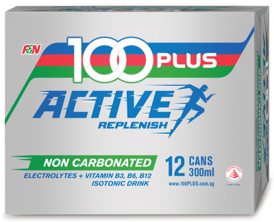 Non-Carbonated Active Replenish Isotonic Drink 12sX300ml