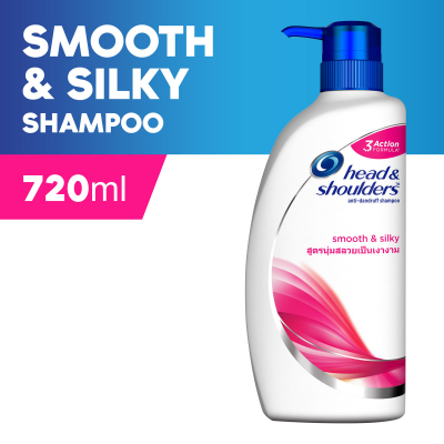 Smooth & Silky Anti-Dandruff Shampoo 720ml