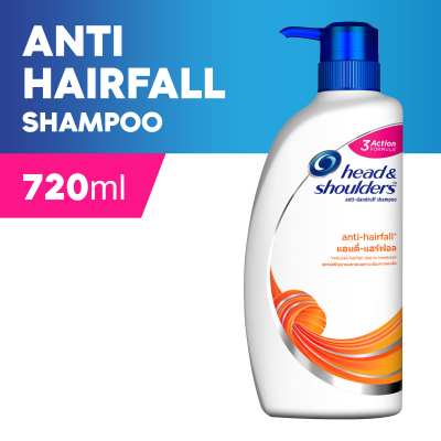 Anti-Hairfall Anti-Dandruff Shampoo 720ml
