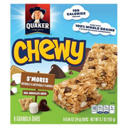Chewy S'mores Granola Bar 8sX24g