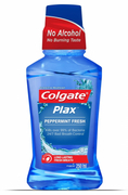 Plax Mouthwash Peppermint Fresh 250ml