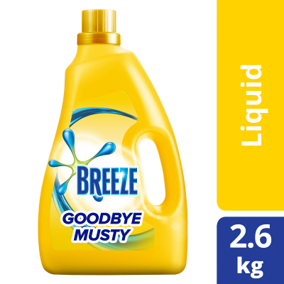 Goodbye Musty (Indoor Drying) Liquid Detergent 2.6Kg