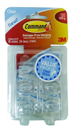 Clear - 18 Small Hooks 17006