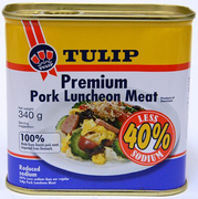Premium Pork Luncheon Meat Less Sodium 340g