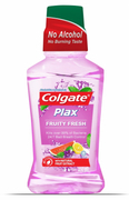 Plax Mouthwash Fruity Fresh 250ml