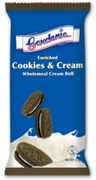 Cookies & Cream Wholemeal Cream Roll 65g