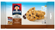 Oat Cookies Chocolate Chips 6sX27g (#)