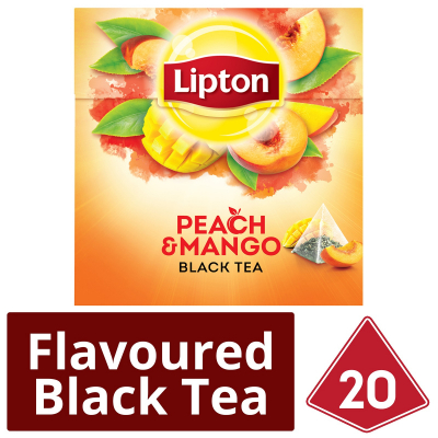 Pyramid Black Tea Peach Mango 20sX1.8g