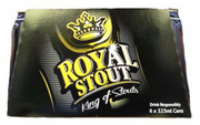 Royal Stout Beer 6sX323ml