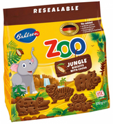 Zoo Jungle Biscuits W/ Cocoa 100g