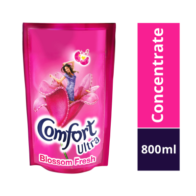 Concentrate Ultra Blossom Fresh Fabric Softener Refill 800ml