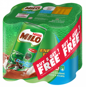 Milo Ready-to-Drink Hi-Cal 6s X 240ml