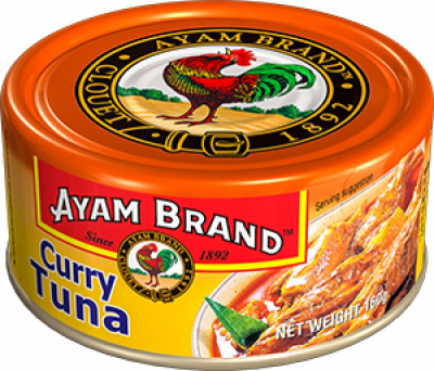 Curry Tuna 160g (#)