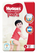 Total Protection Pants Diapers 48s L 9-14kg