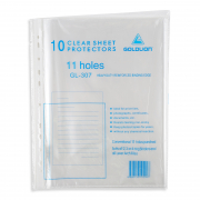 Clear Pocket Sheets 11 Holes (Refill) 10s GL307