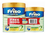 Gold First Steps Follow-On Milk Formula Stage 2 - 900g + 400g