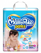 Extra Dry Pants Diapers (Girls) M 64s 7-12kg