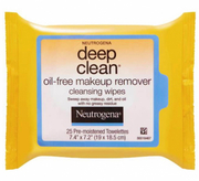 Deep Clean Oil-Free Makeup Cleansing Wipes 25s