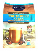 3 In 1 White Coffee Tarik Less Sugar 15sX30g