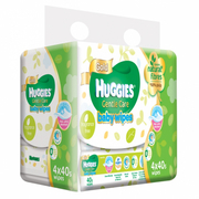 Gentle Care Baby Wipes 4sX40s