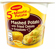 5-Min Mashed Potato W/ Fried Onions & Croutons 56g