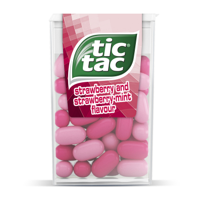 Strawberry & Strawberry Mint Flavoured Candies 14.5g