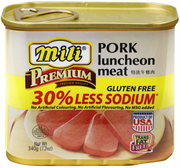 Pork Luncheon Meat Gluten Free (33% Less Sodium)  (#)