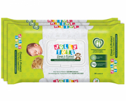 Baby Wipes - Clean & Protect 3X80s
