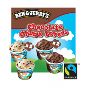 Mini Cups - Chocolate Chunk Lovers 4sX120ml
