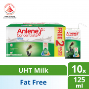 Adult Concentrate UHT Milk -  Fat Free With Collagen 10sX125ml