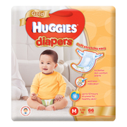 Gold Tapes Diapers M 66s 5-10kg