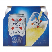 1664 Blanc Wheat Beer Can 4sX320ml