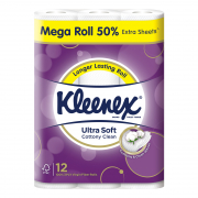 Kleenex Ultra Soft Mega Toilet Roll 12s