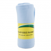 Polar Fleece Blanket Blue 160cmX210cm