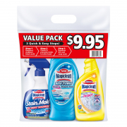 Bathroom Cleaning Tools 3 Step Value Pack