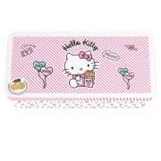 Hello Kitty Tin - Almond & White Sesame Crunchy Biscuits 120g