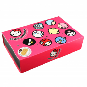 Kitty & Friends Tin - Almond & White Sesame Crunchy Biscuits 1104J 90g