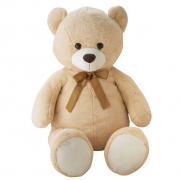 Giant Bear With Ribbon 100cm Bg