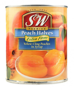 Peach Halves Extra Firm In Syrup 825g