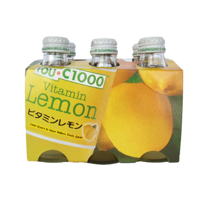 Vitamin Water Lemon 6sX140ml