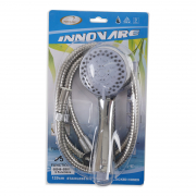 Shower Head Set - 5 Functions With 120cm S/S Locked Hose 00248