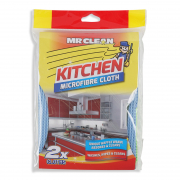 Kitchen Microfibre Cloth 2s