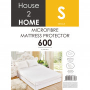 Microfibre Mattress Protector 600 Thread Count - Single