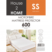 Microfibre Mattress Protector 600 Thread Count - Super Single