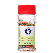 Nonpareils Colour Balls - Hundreds & Thousands 80g